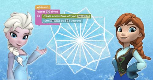 Hour of code - Anna & Elsa