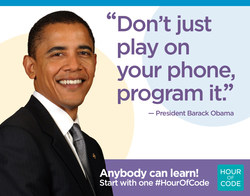 Hour of code - Barack Obama