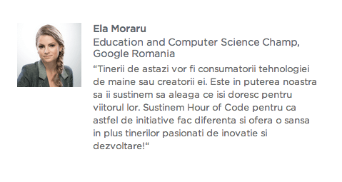 Hour of code - Ella Moraru