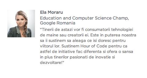 Hour of code - Ella Moraru