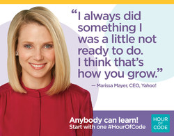 Hour of code - Marissa Meyer