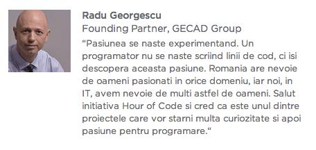 Hour of code - Radu Georgescu