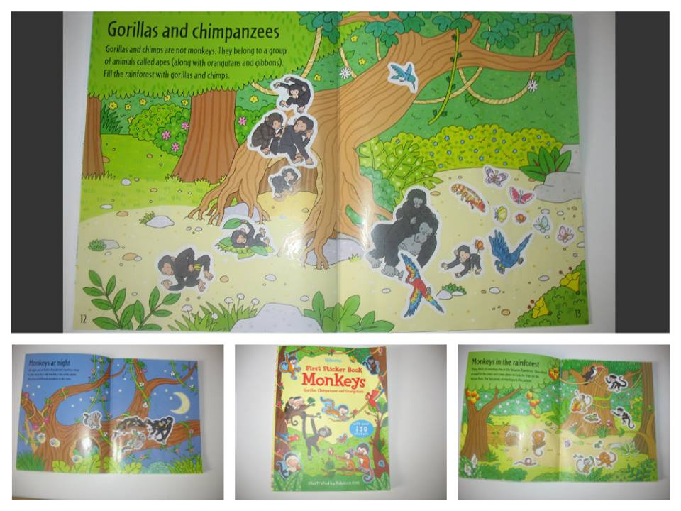 monkeys usborne
