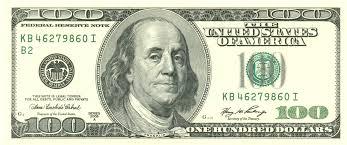 bancnota de 100 de dolari