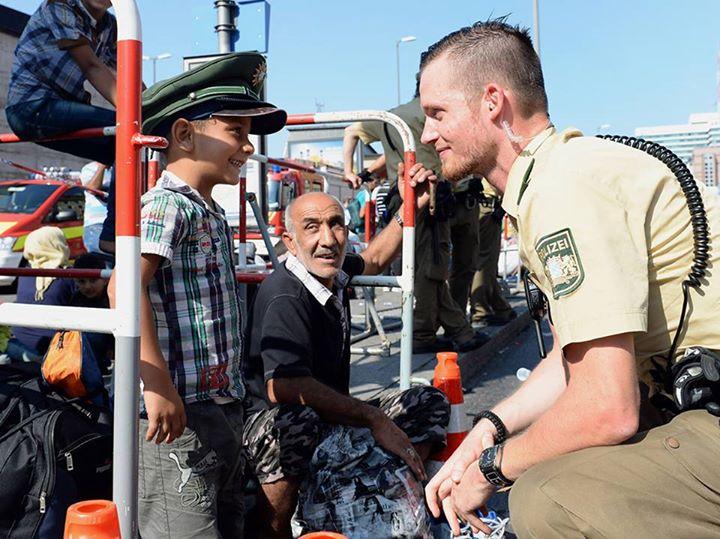 copil refugiat cauta libertatea in Germania