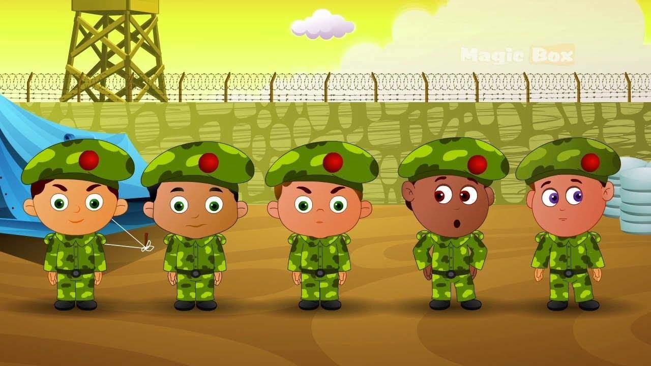la gradinita ca la armata