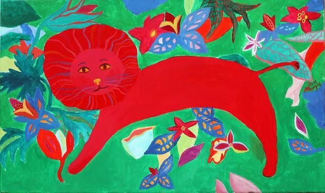 leul rosu indragostit