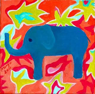 elefantul cu multe emotii
