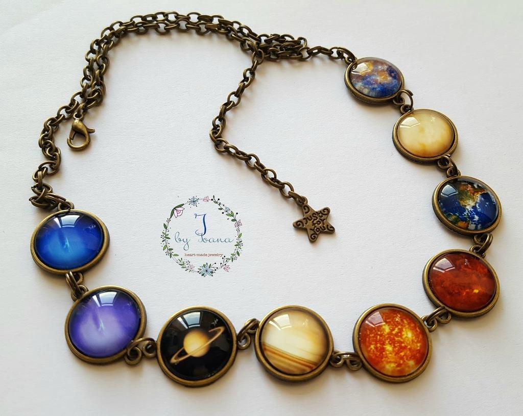 colier sistemul solar